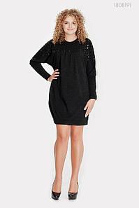 Платье Кальте (чёрный) 1808191 1046338340