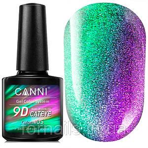 Гель-лаки CANNI 9D Galaxy Cat Eye №05, 7.3 мл