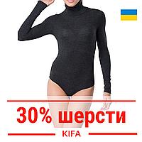 Термободи женское с высоким горлом KIFA / Женское термобелье с шерстью