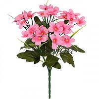 Искусственные цветы букет примулы, 32см