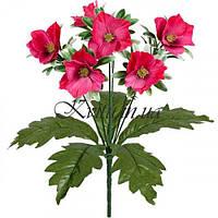 Букет цветы жасмина на подкустнике, 31см