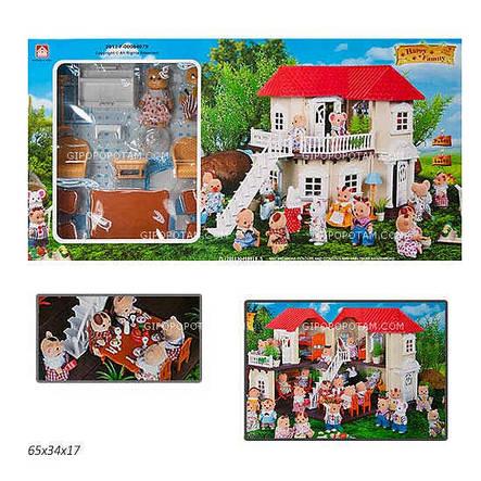 Домик с мебелью и фигурками Happy Family, фото 2