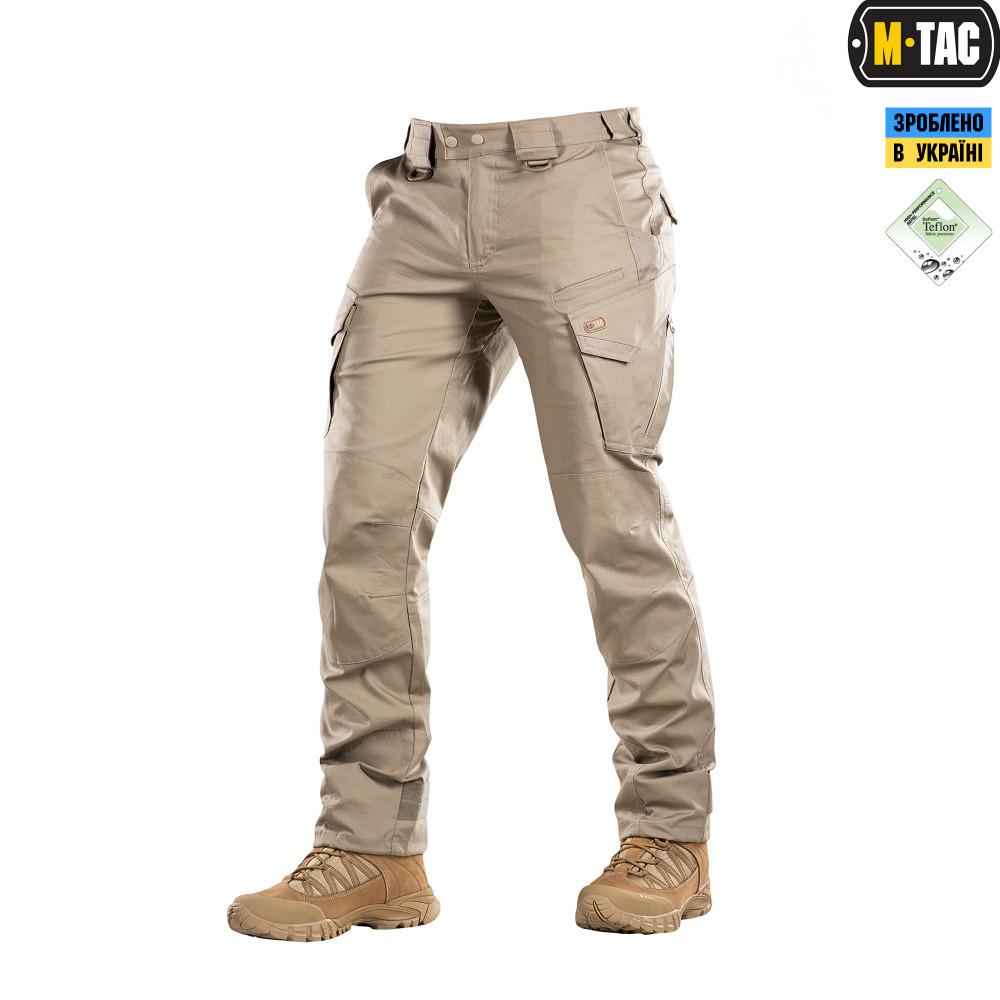 M-Tac брюки Aggressor Gen.II Flex Khaki // Размер XL/R