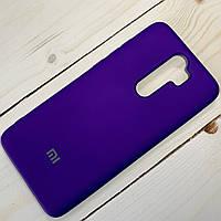 Чехол Silicone Case Xiaomi Redmi Note 8 Pro Фиолетовый, фото 1