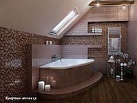 Керамическая,керамогранитная, стеклянная, каменная мозаика: для ванной / в ванную, для кухни / в кухню, для р