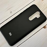 Чехол Silicone Case Xiaomi Redmi Note 8 Pro Черный, фото 1