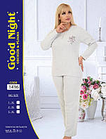 Женская пижама кашемировая Большие размеры