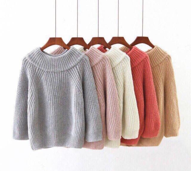 Женский свитер oversize картинка