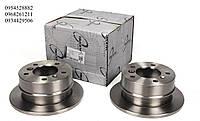 Тормозной диск задний (258х12мм) VW LT 28-35 \ Mersedes Sprinter 208-216 96-06 TRUCKTEC (Германия) 02.35.053
