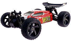 Машинка на радиоуправлении Багги 1:18 Himoto Spino E18XB Brushed (красный)