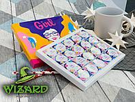 Шоколадный набор Girl Boss (20 шоколадок), фото 1