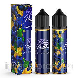 Жидкость для электронных сигарет Fluffy Puff - Blueberry Jam 60мл, 0 мг