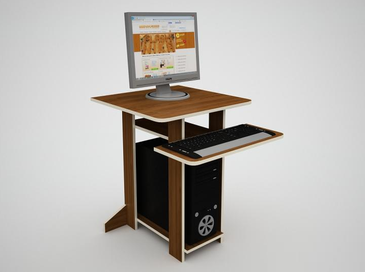 Компьютерный стол Флеш 55 Флеш Ника