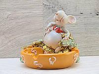Пепельница сувенир Мышка подарок