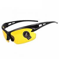 Защитные очки Taktik NP антибликовые тактические велосипедные для авто Желтый (333336)