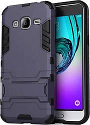 Противоударный чехол Samsung Galaxy J3 2016 (бампер трансформер) (Самсунг Джей Джи 3 16)