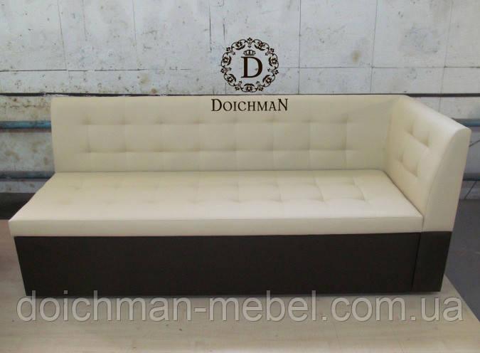 Кухонный диван прямой со спальным местом