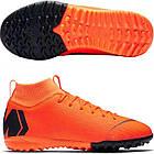 Детские сороконожки Nike MercurialX SuperflyX 6 Academy jr TF оригинал AH7344-810, фото 5
