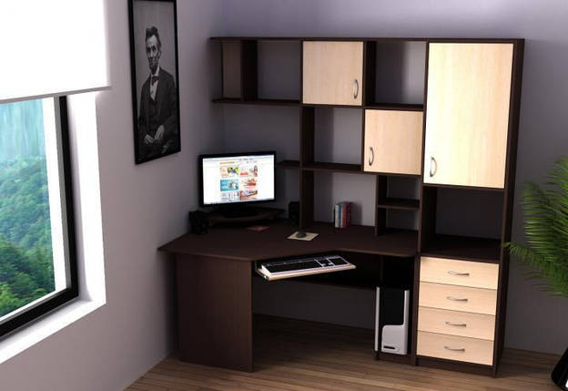 Компьютерный стол Ника-59 Флеш Ника, фото 2