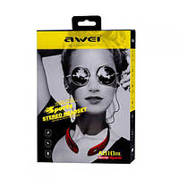 Наушники блютуз Stereo Bluetooth Headset Awei A810 Sport Black