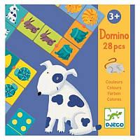 Игра детское домино Djeco Цвета животных (DJ08111), фото 1