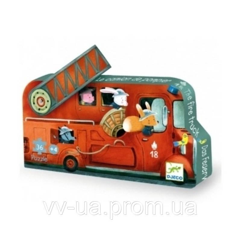 Пазл Djeco 16 Пожарная машина (DJ07269)