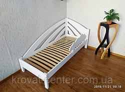 """Белая детская кровать с бортиком """"Радуга"""", фото 2"""