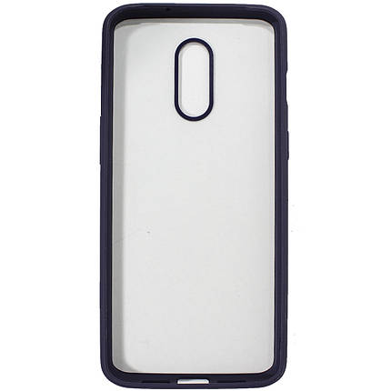 ✹Чехол-накладка PRIMO для смартфона OnePlus 7 Black прозрачный противоударный бампер надежная защита, фото 2