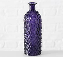 Ваза Джесси фиолетовое стекло h25 d8.5см Гранд Презент 1013528-1 фиолетовый