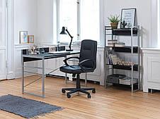 Столик офисный стильный письменный, компьютерный на металлических ножках , фото 3