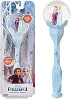 """Волшебная палочка скипетр Эльзы со звуковыми эффектами """"Холодная Эльза 2 """" Frozen 2, Disney"""