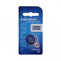 Батарейка для материнской платы Renata CR2032 (Батарея BIOS) 1шт.