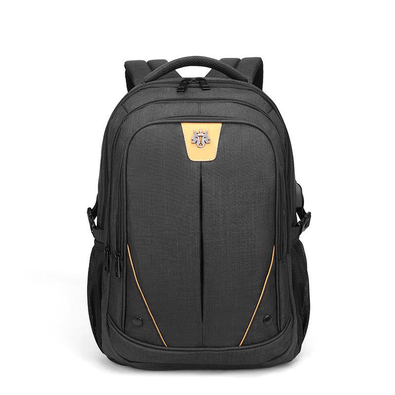 Тканевый городской рюкзак Golden Wolf GB00369 для ноутбука до 15,6, USB портом и отверстием для наушников, 25л