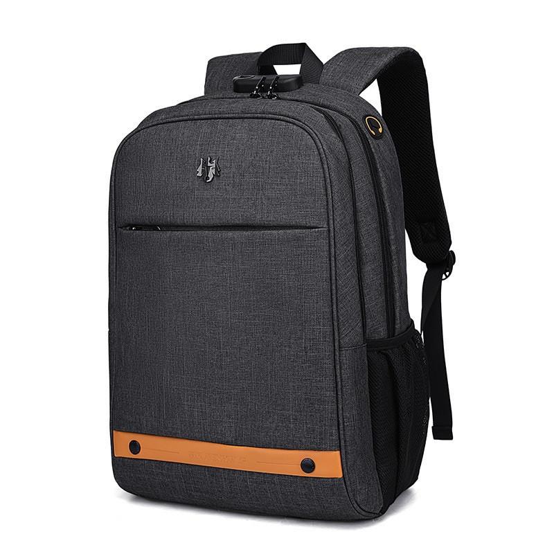 Городской рюкзак-антивор Golden Wolf GB00375 для ноутбука до 15,6, с USB портом, кодовым замком, 20л