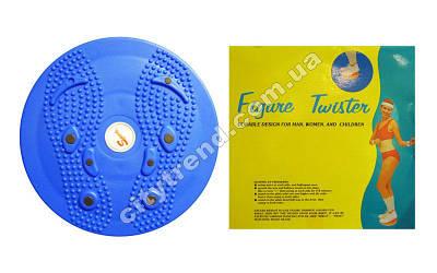 Диск здоровья массажный с магнитами Twister d-25см