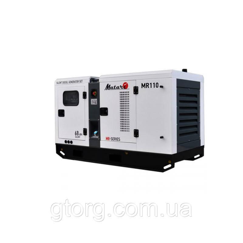 Дизельный генератор Matari MR110