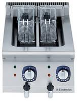 Фритюрница электрическая верхнего расположения, 5+5 л две ванны, внутренний  нагревательный элемент