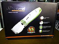 Машинка для стрижки волос с керамическими лезвиями и 2 аккумуляторами Gemei GM 6001, фото 1