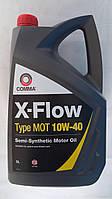 Полусинтетическое моторное масло Comma X-Flow Type Mot  10w-40 5л