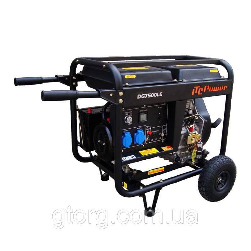 Дизель генератор DG7500LE 5 кВт