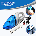 [ОПТ] Компактний автомобільний пилосос High Power Vacuum Cleaner для прибирання салону авто, фото 6