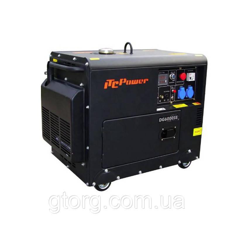 Дизель генератор DG6000SE 5 кВт