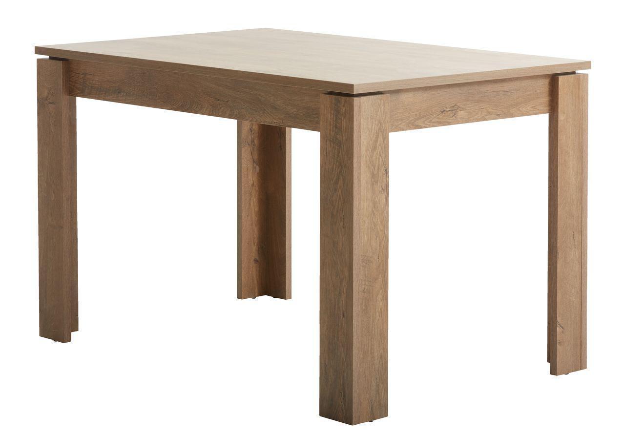 Обеденный стол 80x120см дикий дуб