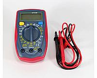 Мультиметр DT UT33B UNI-T, Компактный измерительный прибор, Тестер с щупами, Измеритель тока, напряжения