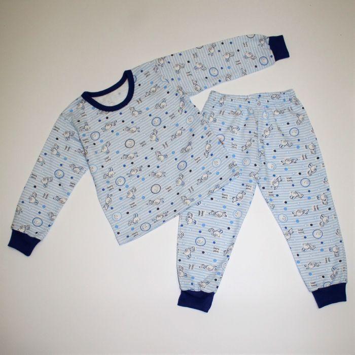 Піжама для хлопчика з манжетом байка 92-116 розміри