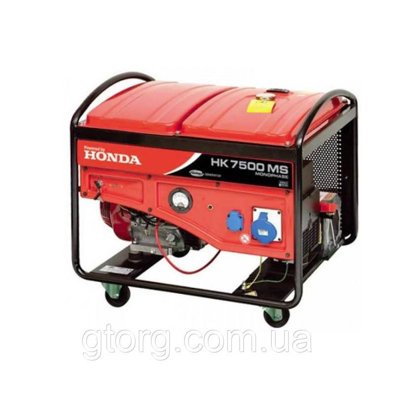 Бензиновый синхронный генератор 6,8 кВт HONDA
