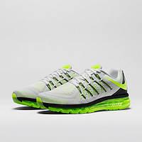 "Кроссовки Nike Air Max 2015 ""White/Black/Volt"", фото 1"