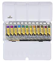 Набор акварельных красок REMBRANDT GRANULATING 12 цв по 10 мл + кисть в металлическом пенале 5830192