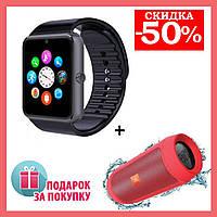 Смарт часы GT08 Smart watch умные часы аналог Apple Watch + Портативная колонка в Подарок