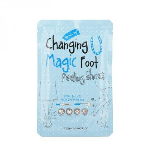 Пилинг для стоп Tony Moly Changing U Magic Foot Peeling Shoes
